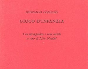 GIOCO D'INFANZIA Giovanni Comisso