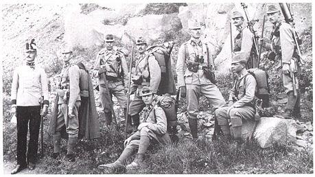 Luigi Sardi Prima Guerra Mondiale Carzano 1917