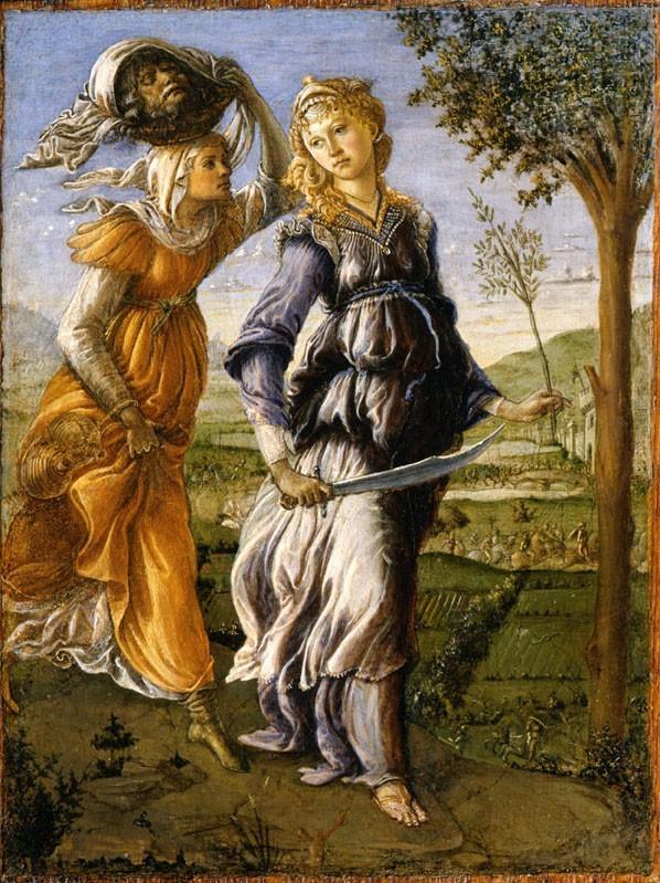 Giuditta di Botticelli Museo Diocesano MILANO