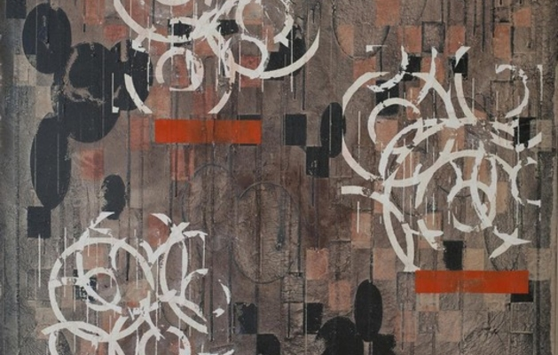 Roberto Floreani la pittura come arte marziale e meditazione