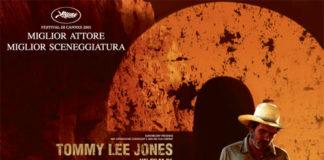 LE TRE SEPOLTURE Tommy Lee Jones western urbano una funebre amicizia