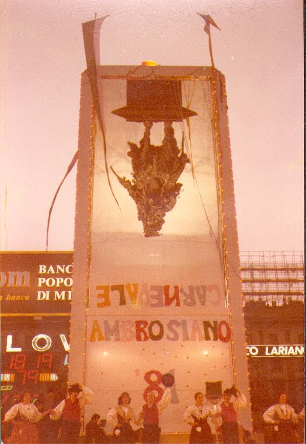 Carnevale 81 Milano
