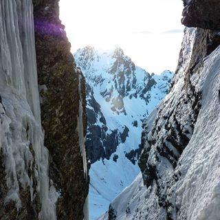 ghiaccio scalata