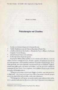 Vittoria Bianchini arte terapia terapie espressive Paolo Pini atelier pittura Arno Stern closelieu Ferruccio Osimo